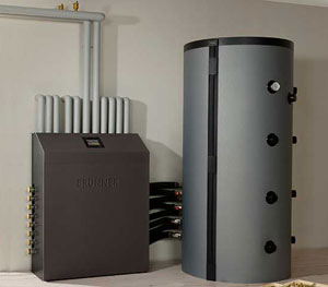 Complete heating system functionality